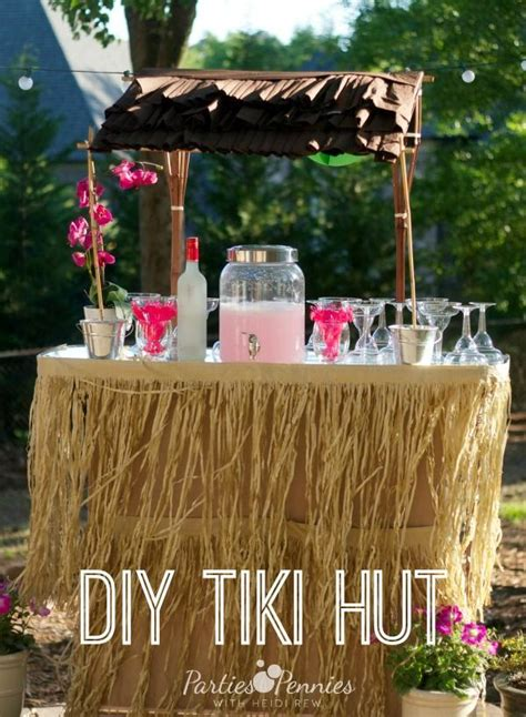 hut diy how to build a tiki bar easy woodworking projects plans