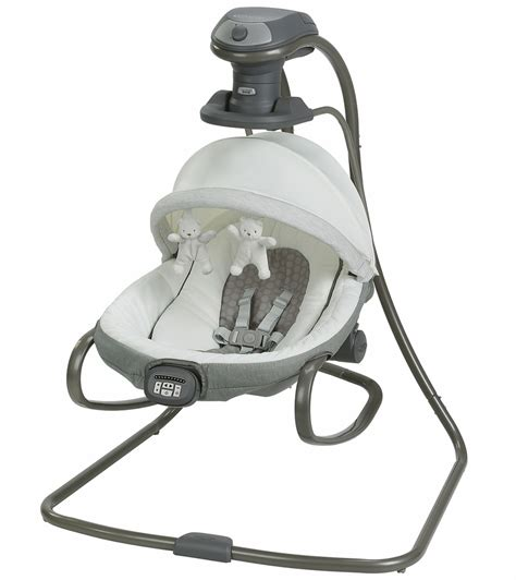 swing technology graco duet oasis swing with soothe surround technology davis