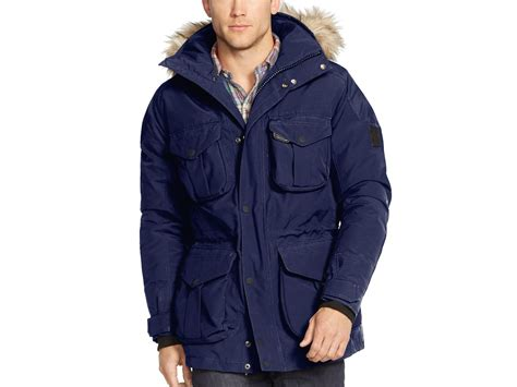 Jaket Parka Tipe A Polos Navy lyst ralph polo rlx ranger parka in blue for