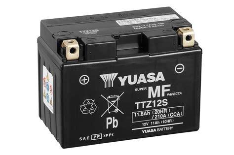 Motorrad Batterie Erhaltungsladeger T Test by Ttz12s Wartungsfrei Motorrad Powersport Batterien