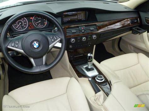 2008 Bmw 528i Interior by Beige Dakota Leather Interior 2008 Bmw 5 Series 535i