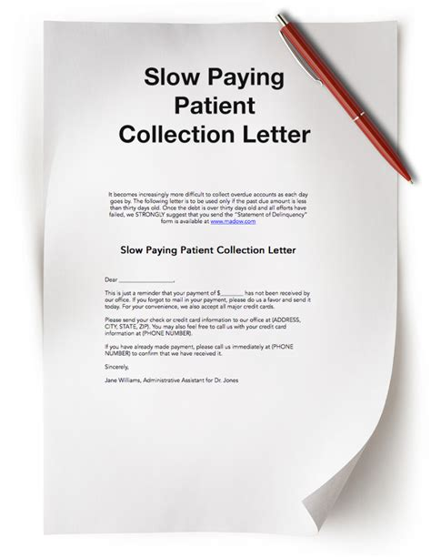 Patient Letter For Payment Dental Practice Resources Free Dental Resources The Madow Brothers
