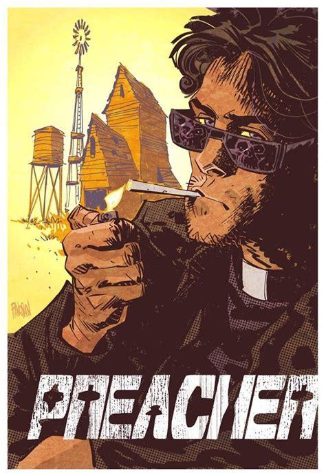 Preacher Book One Graphic Novel Preacher Custer By Dan Panosian Comics