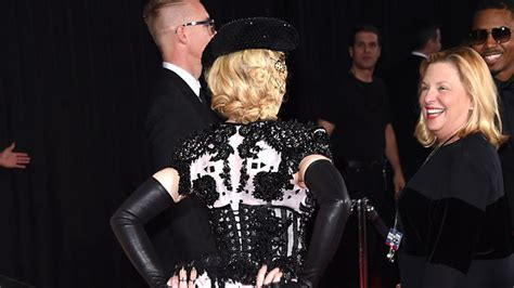 Shes Racked by Madonna Flashes On The Carpet Because She S
