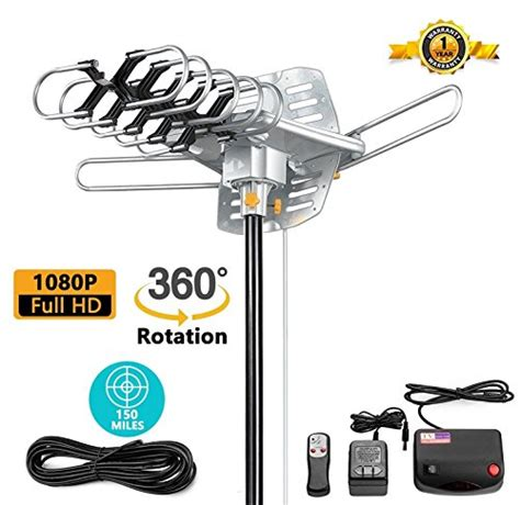 omnidirectional khdtv outdoor tv antenna  review comparison  pick