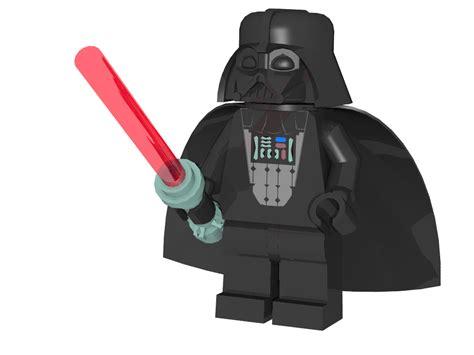 Lego Dart Vather 3d lego models darth vader minifigure downloads