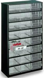 raaco professional 24 x drawer storage cabinet 107303