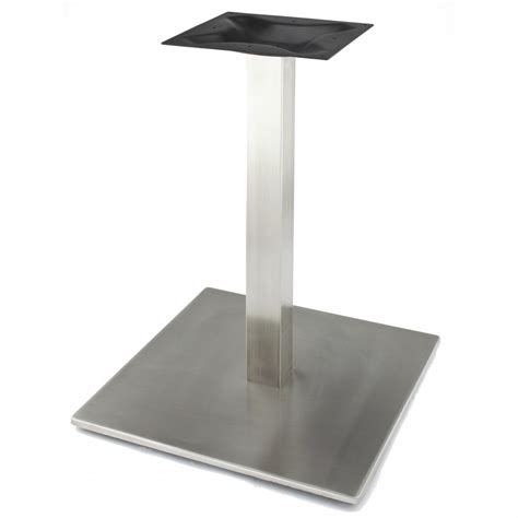 stainless steel table base rsq540 stainless steel table base bar height 40 3 4
