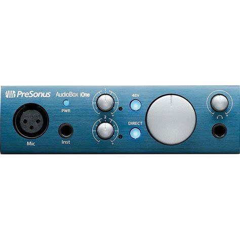 Presonus Audio Box Usb presonus audiobox ione usb 2 0 audiobox ione b h