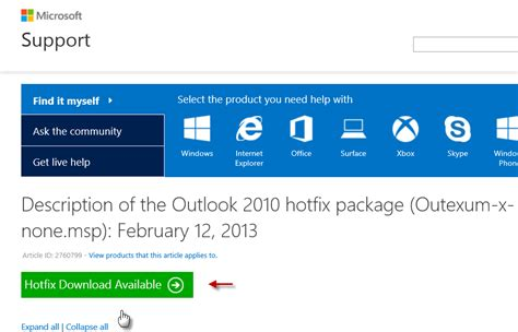 ms office hotfix using office configuration analyzer tool offcat for