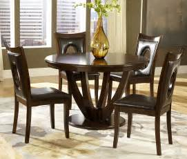 round dining room sets homelegance vanbure 5 piece 48 inch round dining room set