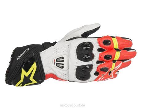 Motorradhandschuhe Neongelb by Handschuh Alpin Gp Pro R2 Alpinestars Schwarz Wei 223 Rot
