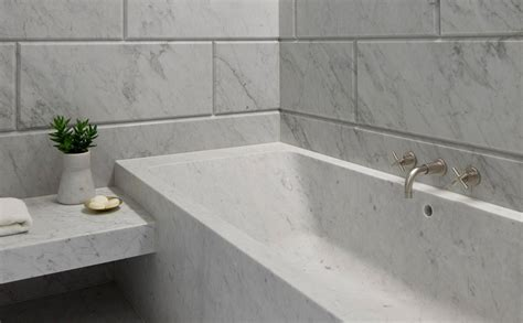 carrara bathroom carrara marble bathrooms how to decorate them homesfeed