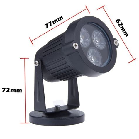 12v led yard lights 3watt 12v 110v 230v led lawn l spot garden light