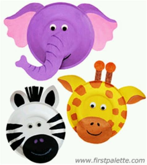 zoo animal crafts for zoo animals zoo crafts animals plates and