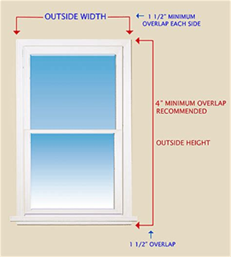 how to measure outside mount blinds discount window - How To Measure For Shades Outside Mount