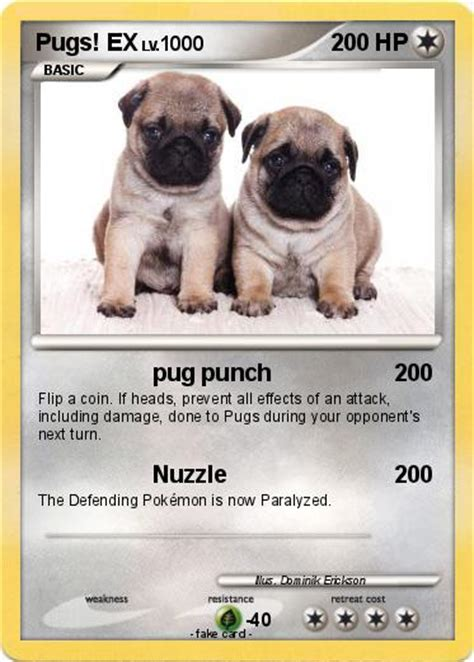 what are dantdm s pugs names pok 233 mon pugs ex pug punch my card