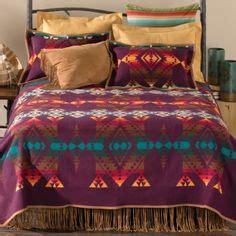 tribal bedding tribal western bedding love the fringe bed skirt