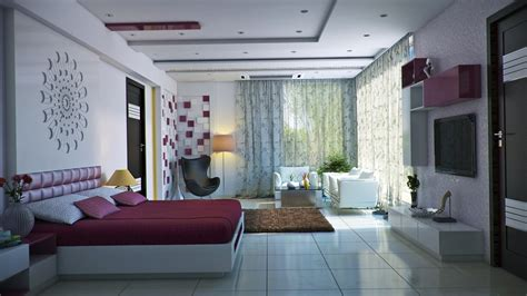 Room Ideas by Modern Feminine Bedroom Interior Design Ideas