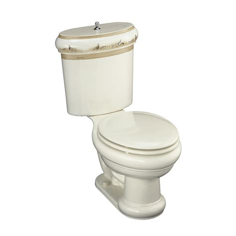 lowes bathroom commodes shop kohler biscuit rough in elongated toilet at lowes com
