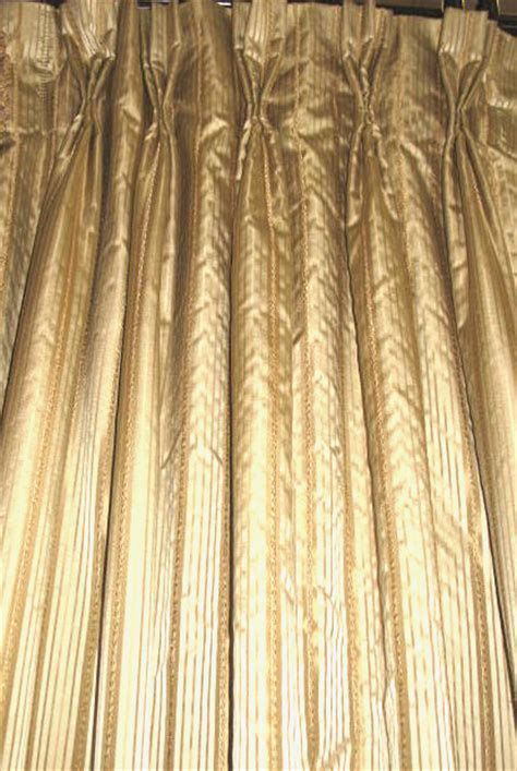 french pleat drapery versailles drapery panel french pleat