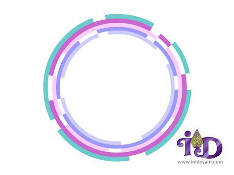desain logo bulat download vector desain obyek lingkaran cincin rusak