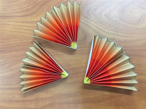 How To Make Paper Fans With Popsicle Sticks - make a fan with earth s layers nasa space place