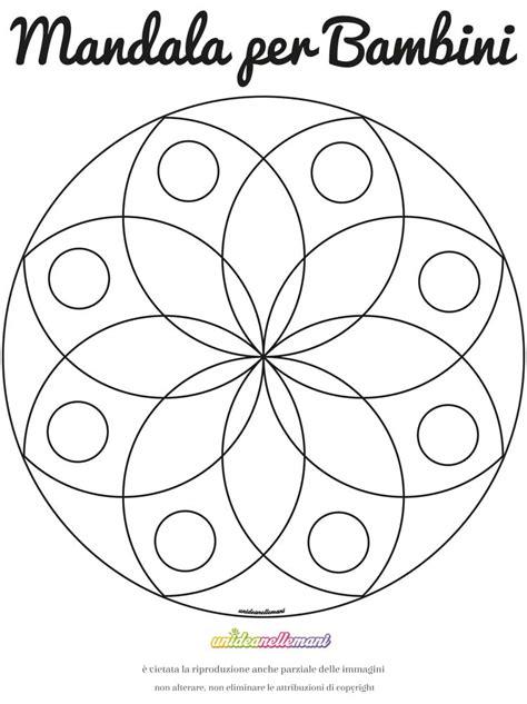 fior di loto disegno disegno mandala fiore di loto 1 da colorare e da stare