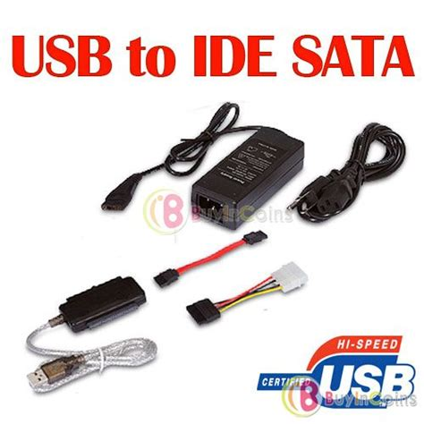 Usb 2 0 To Sata Ide Cable usb 2 0 to sata ide 2 5 3 5 drive adapter cable buyincoins