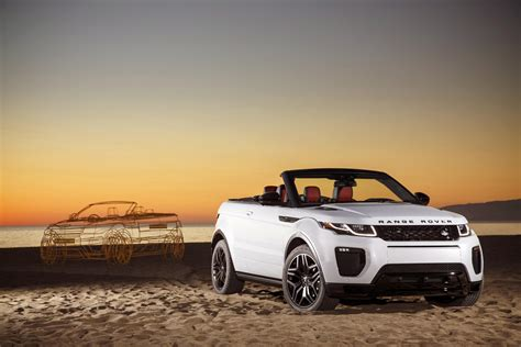 convertible land rover cost 2016 range rover evoque convertible review gtspirit