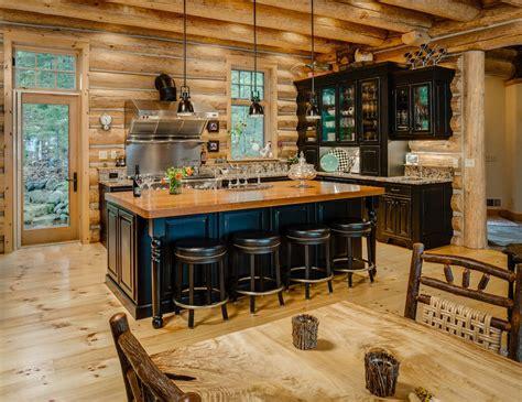 log home kitchen ideas 2018 exquisite log cabin kitchens home renovations kitchen