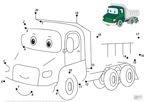 car dot to dot free printable coloring pages arsip tembi net