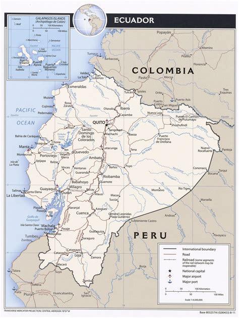 ecuador on map ecuador ecoi net european country of origin