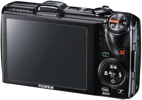 Fujifilm Finepix F500exr fujifilm finepix f500exr and f550exr digital cameras