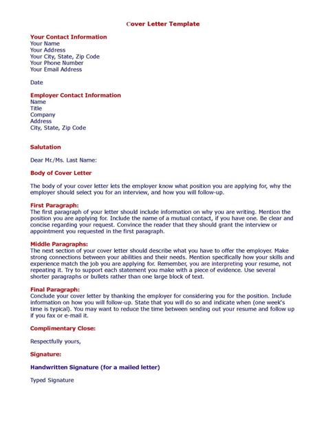 Cover Letter Layout by Cover Letter Should Include Images Cover Letter Sle