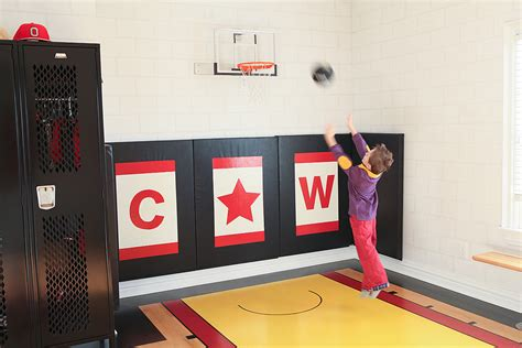 delightful indoor basketball hoop wall mount decorating