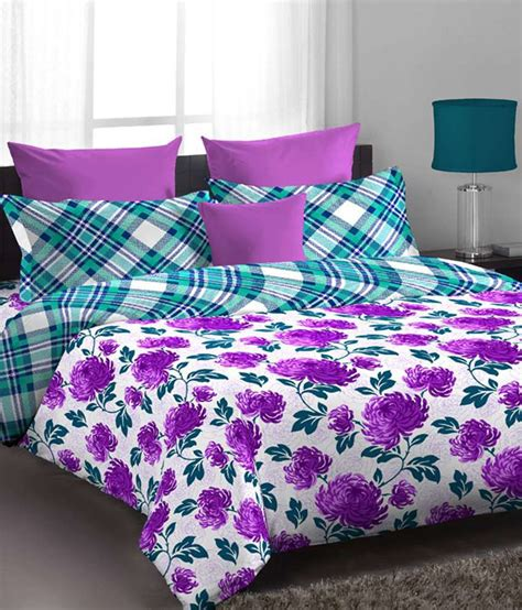 purple green comforter home expressions usa purple green single bed comforter