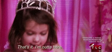 Total Sorority Move   ?Toddlers In Tiaras? Show Us The Perfect Way To Deal With Your Family