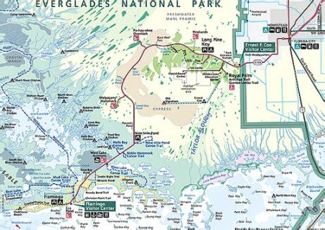 everglades national park map 5 everglades visitor centers are the gateway to park attractions