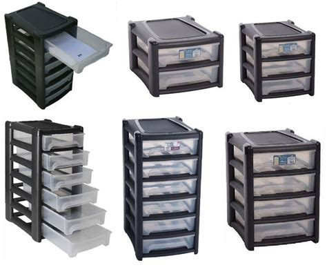 Organizer Drawers by Plastic Shallow Drawer Storage Unit Cabinet Office Bedroom