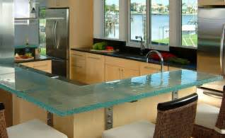 Kitchen Glass Designs Glass Kitchen Countertops By Thinkglass Idesignarch Interior Design Architecture Interior