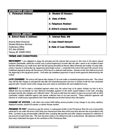 promissory note sle loan promissory letter sle 28 images doc 12751650 exle