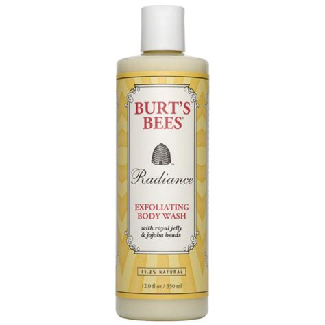burt s burt s bees radiance exfoliating body wash free delivery