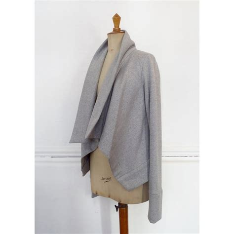 cardigan pattern sewing free longley draped waterfall cardigan sewing pattern miy