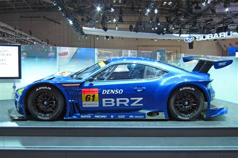 subaru frs modified subaru brz gt300 set to take on supergt autoblog