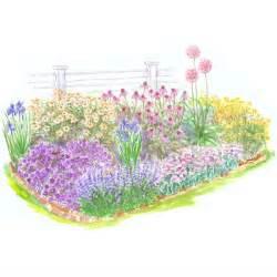 Flower Garden Plans For Beginners Beginner Garden For Sun