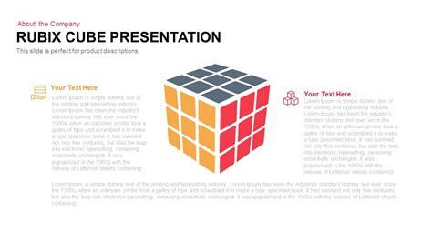 rubix cube presentation powerpoint keynote slidebazaar