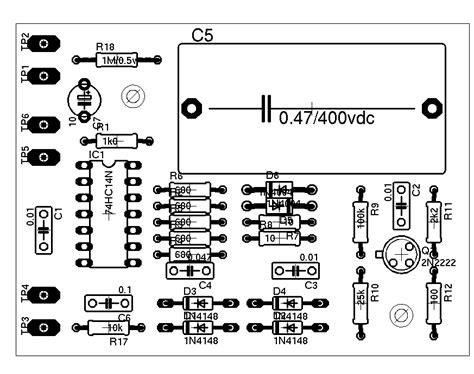 esr meter schematic diy capacitor esr meter