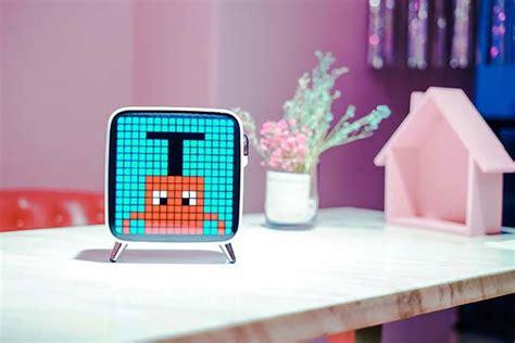 divoom tivoo max portable bluetooth speaker  led pixel