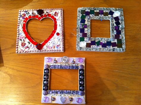 mosaic tile craft projects glass mosaic tile crafts house photos